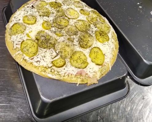 QC Frozen Pizza - Big Dill thaw process