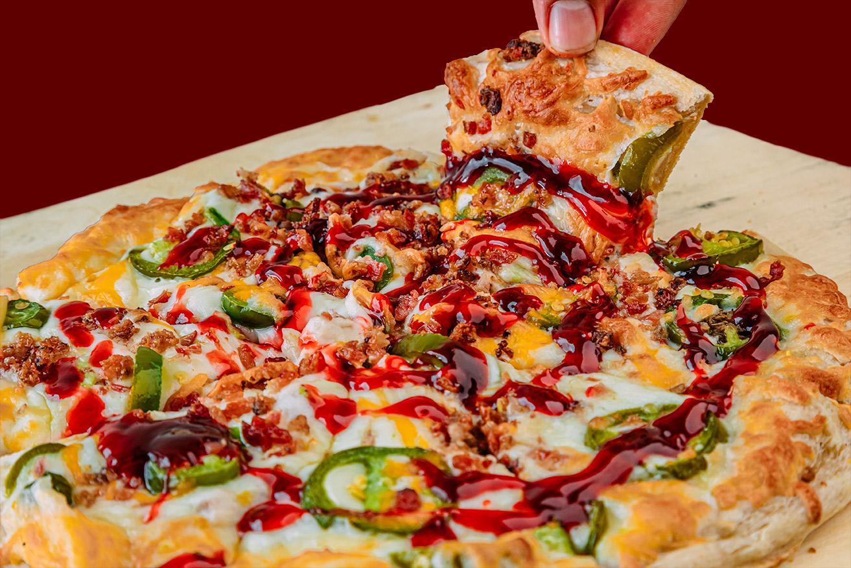 QC Frozen Pizza - Quad City Style Pizza - Jalapeno Popper Pizza